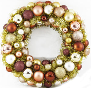 Christmas Wreath with 80 PCS Ball