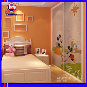 Children Sliding Door Wardrobe (ZH079) pictures & photos