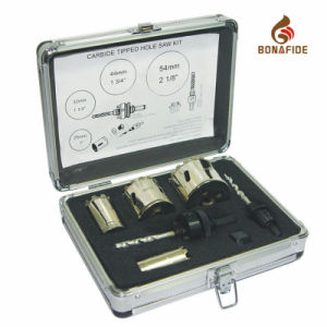 Electroplated Diamond Tipped Hole Saw Kit pictures & photos