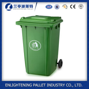 Outdoor Large Plastic Dustbin Trash Can Garbage Bin in Stock pictures & photos