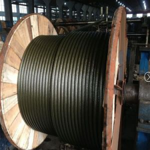 6X37 Galvanized Steel Wire Rope with Diameter 12mm En12385-4 pictures & photos