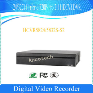 Dahua 24 CH Tribrid 720p-PRO 2u DVR (HCVR5824S-S2) pictures & photos