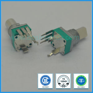 9mm Switch Rotary Potentiometer for Volume Control with Metal Shaft pictures & photos