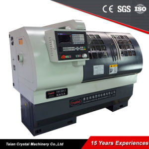 Low Cost Flat Bed New CNC Lathe Machine Price Ck6136A pictures & photos