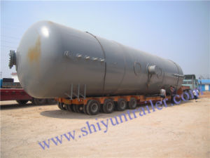 4 Axis 60-70 Ton Tanker Semi Trailer Low Bed Trailer Tanker Transport Heavy Truck