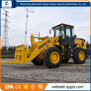 3t Articulated Wheel Loader with Pallet Fork pictures & photos