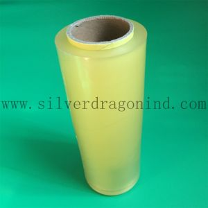 12mic PVC Fruit Stretch Film with Custom Band pictures & photos