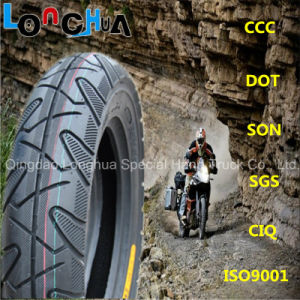 High Natural Rubber Percent Scooter Tyre (3.00-10, 3.50-10) pictures & photos