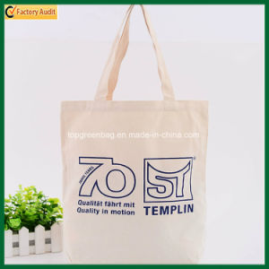 Casual Promotional Natural Beige Cotton Canvas Tote Bags (TP-TB146) pictures & photos