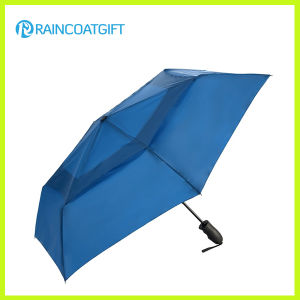 Wholesale Auto Open Folding Rain Umbrella pictures & photos