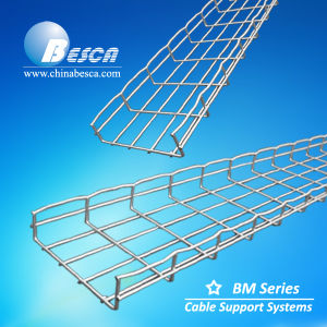 Electro Galvanised Wire Mesh Cable Tray with UL and CE Authorized