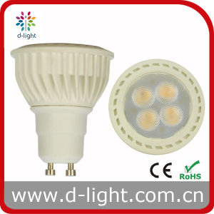 GU10 LED Spotlight Bulb 4.5W SMD3030 4PCS High Lumen Efficiency LED Spot Light