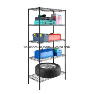 Garage Tools Steel Wire Shelving 5 Shelf Storage Rack Unit Shelves pictures & photos