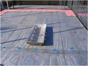 Concrete Formwork, Made From a Lightweight Metal That Is Easy to Transport, Set up, Tear Down, and Clean