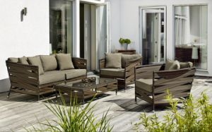 Outdoor Sofa 4 Pieces Sets