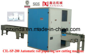 Automatic Toilet Roll Paper Log Saw Cutting Machine (CIL-SP-280) pictures & photos