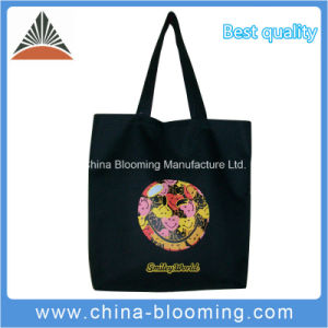 Promotion Polyester Smiley Face Leisure Hand Carrier Shopping Tote Bag pictures & photos