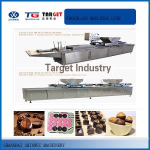 Cm275 Multi-Fuction Chocolate Moulding Line pictures & photos