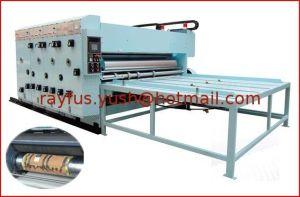 Semi-Auto Flexo Printing Slotting Machine pictures & photos