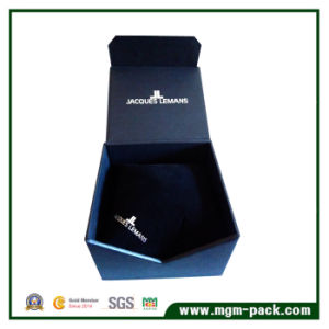 Special Designed Black Paper Watch Box for Sale pictures & photos