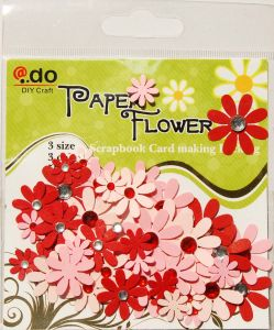 Paper Flowers with Gems (F2-1-1)