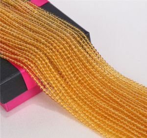 Gmenstone Loose Crystal Strands Wholesale Cute Size 2mm 3mm Natural Yellow Quartz Gemstone pictures & photos