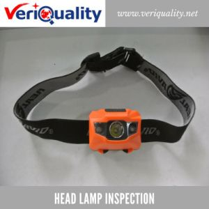 Head Lamp Quality Control Inspection Service at Ninghai, Zhejiang pictures & photos