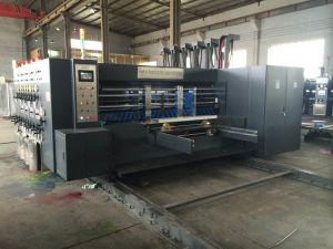 High Speed Four Colors Flexo Printing and Slotting and Die-Cutting Machine pictures & photos