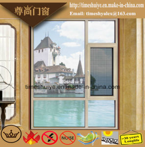 Customizable Double Layer Clear Glass Aluminium Casement Windows pictures & photos