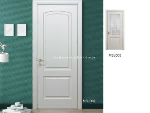 Newly Created Affordable Prices White Oak Interior Solid Wooden Doors pictures & photos