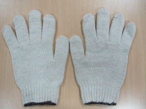 White Cotton Hand Gloves Hand Clapper Glove Wheelchair Winter Gloves pictures & photos