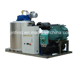 Air Cooled Salt Water Flake Ice Machine pictures & photos