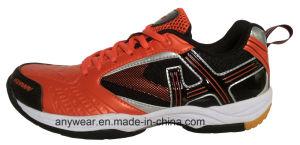 Athletic Footwear Men Squash Table Tennis Badminton Shoes (815-5120) pictures & photos