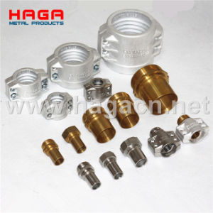 Stainless Steel Brass Aluminum DIN 2817 Coupling pictures & photos