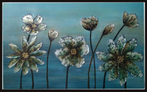 Dream Season with White Flowers Art Fine Painting for Bedroom (LH-017000) pictures & photos