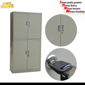 Metal Office Filing Cabinet Steel Filing Cabinet with 4 Door pictures & photos