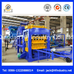 Qt10-15 Fully Automatic Hydraulic Hollow Concrete Block Brick Paver Making Machine pictures & photos