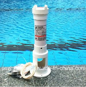 China swimming pool automatic chlorine bromine tablet offline pool feeder china pool chlorine for Chlorine or bromine for swimming pools