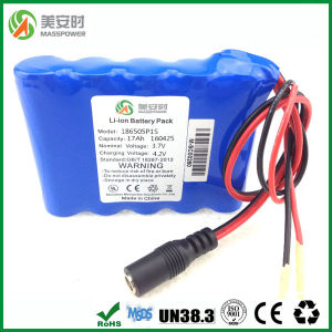 Super Capacity 18650 Protected Li-ion Battery