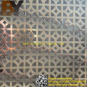 304 Stainless Steel Perforated Metal Mesh Plates Sheets pictures & photos