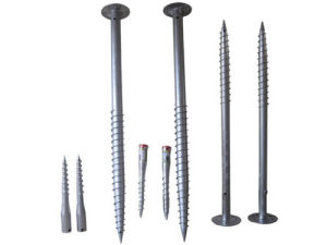 Hot Dipped Galvanized Ground Screw Anchor pictures & photos