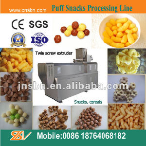 Puffed Corn Snacks Machine for Industrial pictures & photos