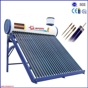 Compact Pressurized Solar Water Heater with Heat Pipe pictures & photos