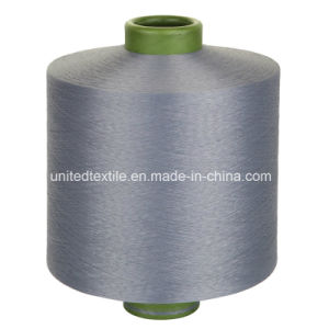 100% Polyester DTY Dope Dyed Knitting Yarn (450d/144f SD Him) pictures & photos