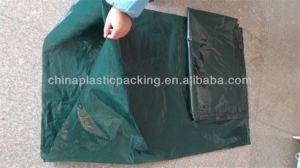 Qingdao Supplier PE Dark Green Garden Bag for France Marekt