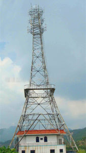 Antenna Guyed Mast Telecom Tower pictures & photos