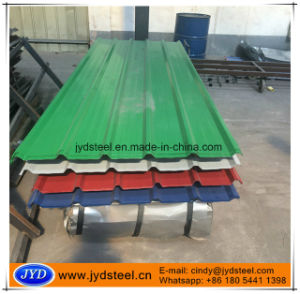 Color Corrugated Iron Roof Sheet with Trapezium Type pictures & photos