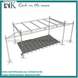 Rk Spigot-Type Square Truss with Aluminum Stage System pictures & photos