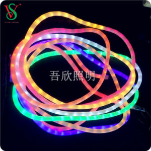 Rainbow Night Popular Flexible Rope Light for Christmas Decoration pictures & photos