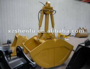 Sf 360 Degree Rotating Hydraulic Clamshell Bucket pictures & photos